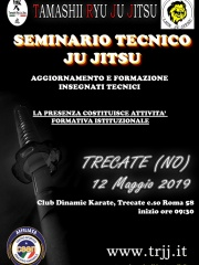 Seminario Tecnico TRJJ -  Trecate (NO) - 12 maggio 2019